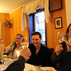 Erbach Germany, Michel's Restaurant, Rhine Wine Toast