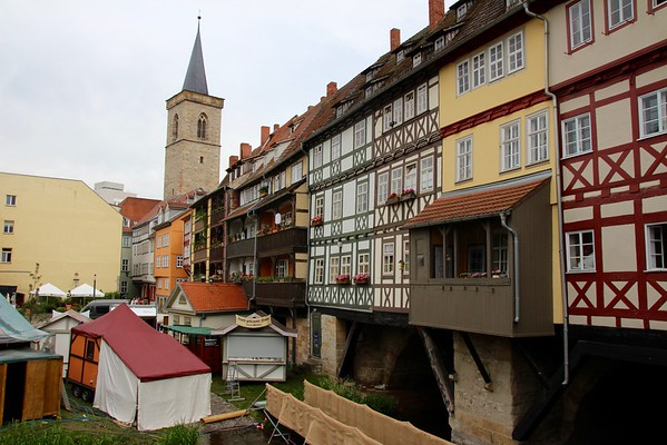 Erfurt Market Bridge