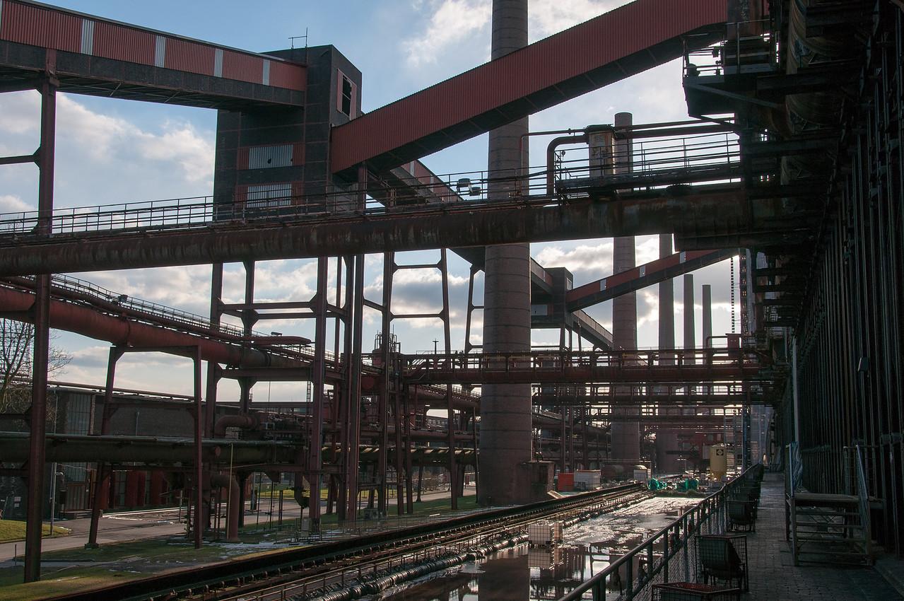 Inside Zollverein in Essen, Germany