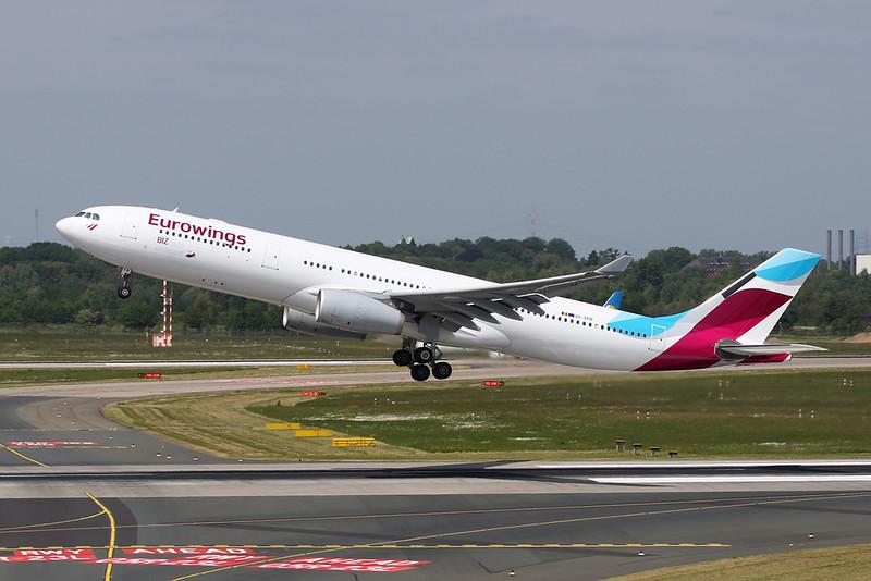 """OO-SFB Airbus A330-343X c/n 915 Dusseldorf/EDDL/DUS 18-05-18 """"EWG"""""""