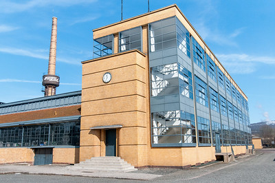 Shot from outside the Fagus Factory in Alfeld, Germany