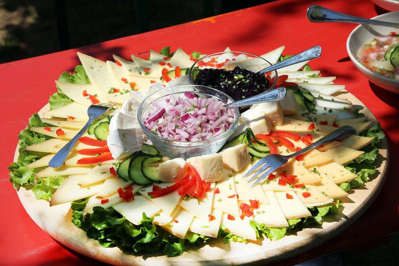 Frankfurt Germany, Schneider, Obsthof am Steinberg, Luncheon Plate
