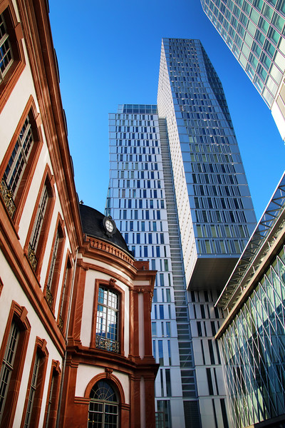 Frankfurt Germany, Old & New, Jumeirah Hotel