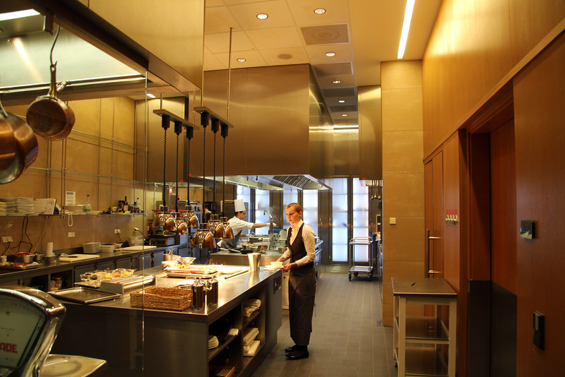 Frankfurt Germany, Jumeirah Hotel, Kitchen