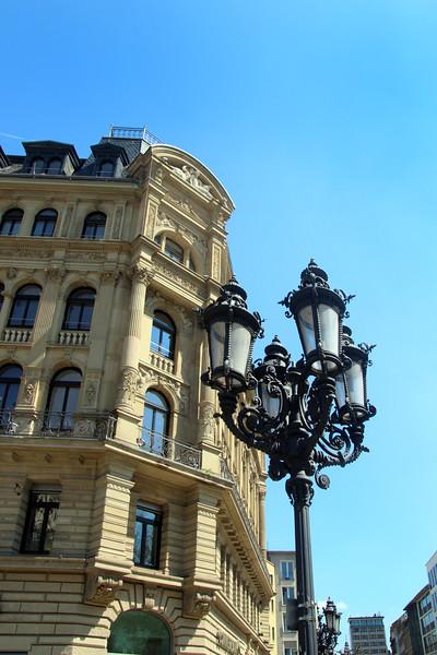 Frankfurt Germany, Gaslamp, Opera Plaza