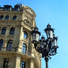 Frankfurt Germany, Gaslamp, Opera Plaza