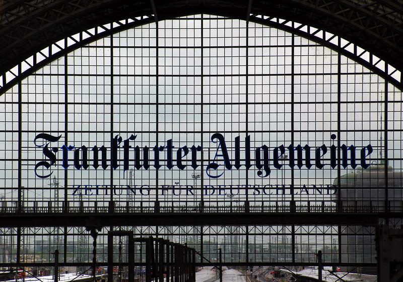 Frankfurt Germany, Hauptbahnhof, Frankfurt Train Station