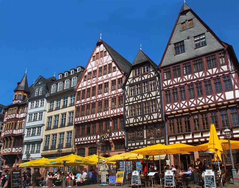 Frankfurt Germany,  Roemerberg, Main Square, Frankfurt
