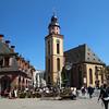 Frankfurt Germany, Hauptwache, St. Catherines Church
