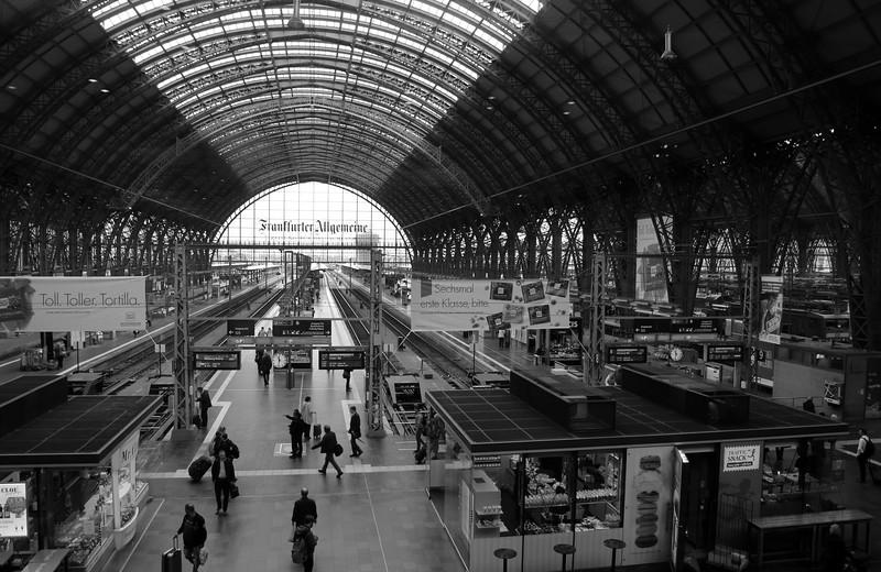 Frankfurt Germany, Hauptbahnhof, Main Train Station