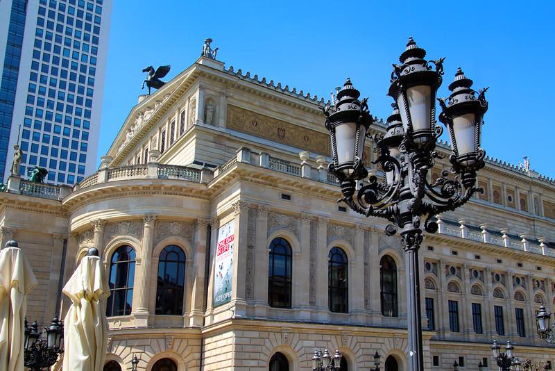 Frankfurt Germany, Old Opera