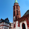Frankfurt Germany,  Roemerberg Square