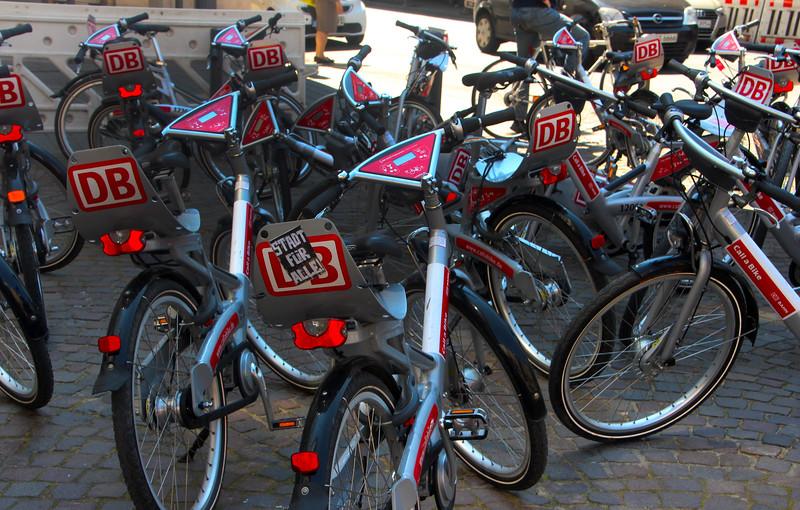 Frankfurt Germany, Rent A Bike