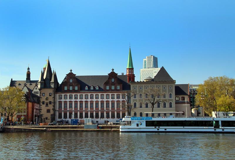 Frankfurt Germany, Primus Cruise Line at Dock