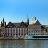 Frankfurt Germany, Primus Cruise Line at Dock