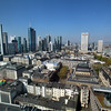 Frankfurt Germany, View Over City from Jumeirah Hotel