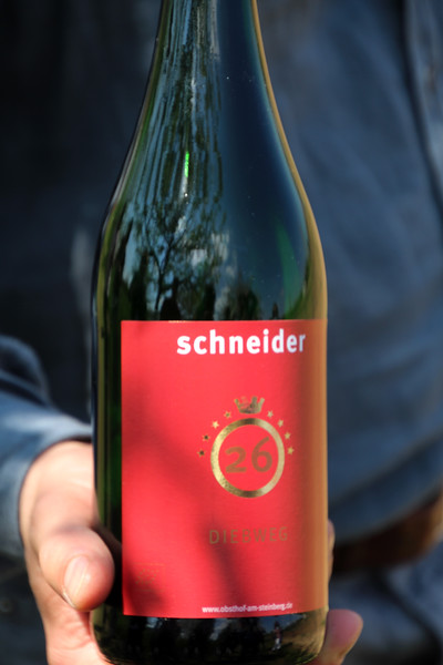 Frankfurt Germany, Schneider, Obsthof am Steinberg, Apple Wine