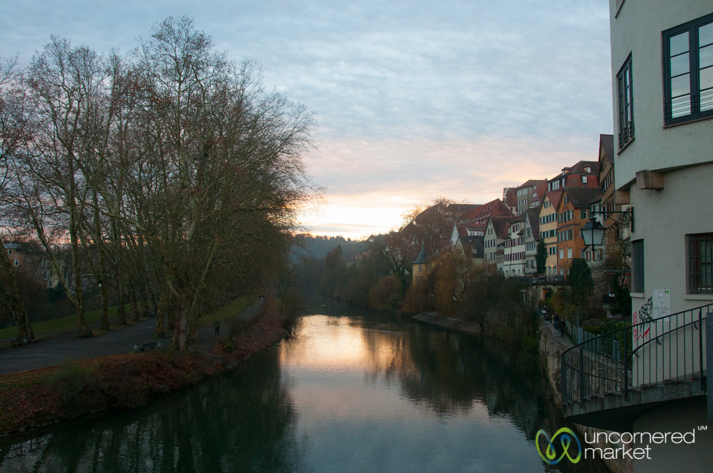 Tübingen on a Winter Sunset - Baden-Württemberg, Germany
