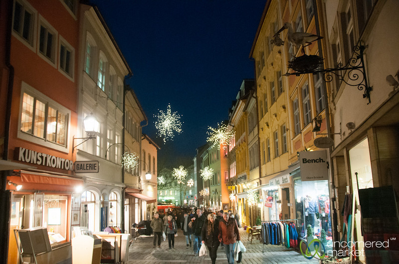 Bamberg Streets at Christmas - Bavaria, Germany