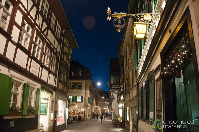 Bamberg Old Town Streets - Bavaria, Germany