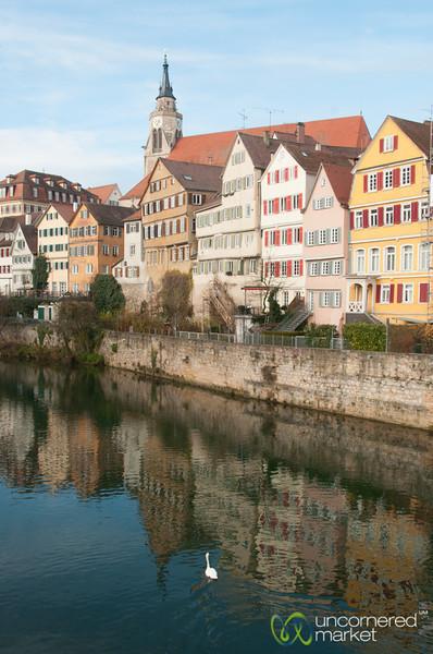 Colorful Houses in Tübingen - Baden-Württemberg, Germany