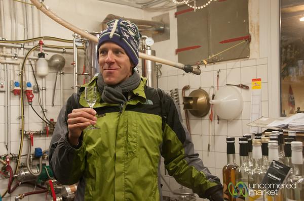 Dan Goes Schnapps Tasting - Esslingen, Germany