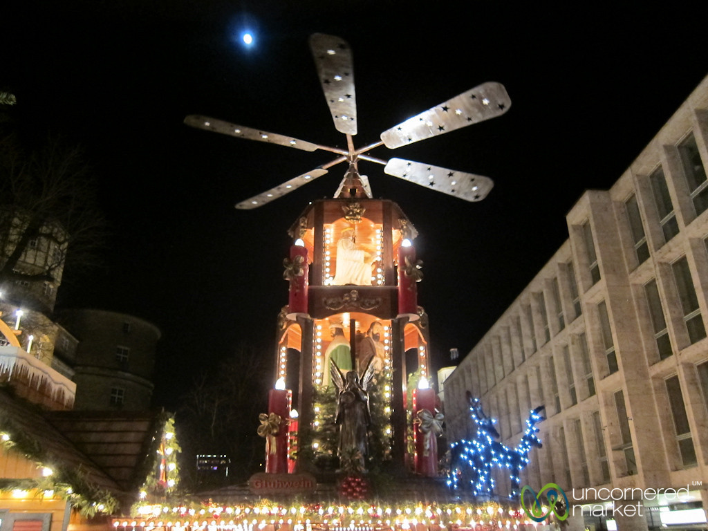 Stuttgart Christmas Market Pyramid - Germany