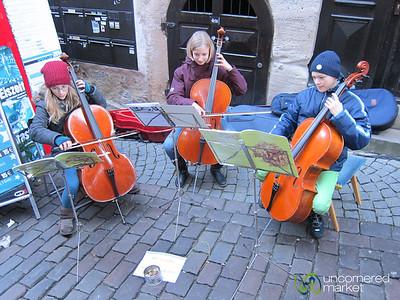 Tübingen Christmas Market, Children Musicians - Baden-Württemberg, Germany