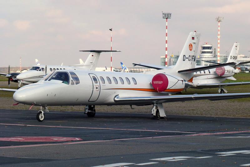 D-CIFM Cessna 560 CItation Encore+ c/n 560-0814 Dusseldorf/EDDL/DUS 30-10-11