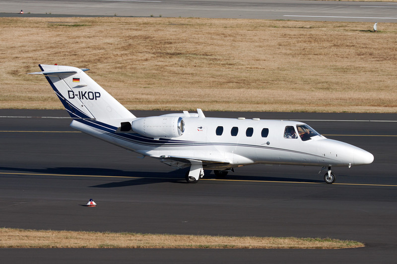 D-IKOP Cessna 525 Citation Jet c/n 525-0016 Dusseldorf/EDDL/DUS 16-07-10