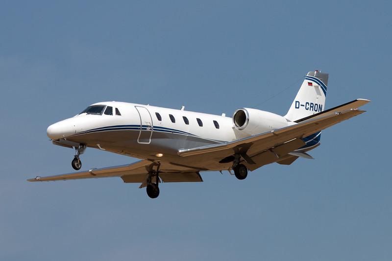 D-CRON Cessna 560 Citation Excel S c/n 560-5762 Brussels/EBBR/BRU 05-07-11