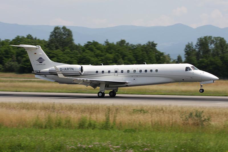 D-ARTN Embraer ERJ-135BJ Legacy c/n 14500941 Basle-Mulhouse/LFSB/BSL 22-06-08