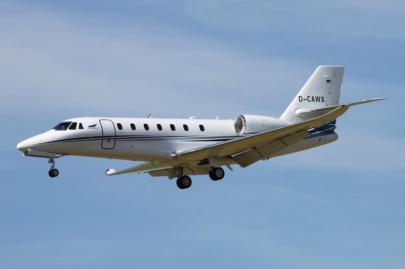 D-CAWX Cessna 680 Citation Sovereign c/n 680-0535 Paris-Le Bourget/LFPB/LBG 10-07-16