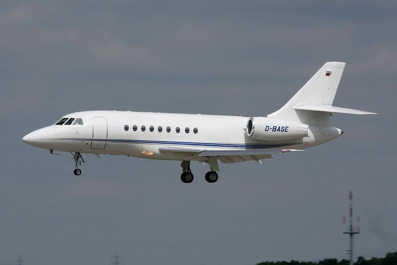 D-BASE Dassault Falcon 2000E EASy c/n 111 Dusseldorf/EDDL/DUS 03-08-08