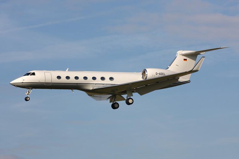 D-ADCL Gulfstream G550 c/n 5435 Paris-Le Bourget/LFPB/LBG 01-10-14
