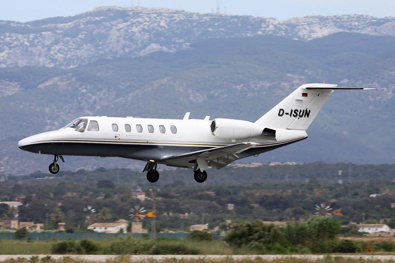 D-ISUN Cessna 525A CitationJet 2 c/n 525A-0143 Palma/LEPA/PMI 16-06-16