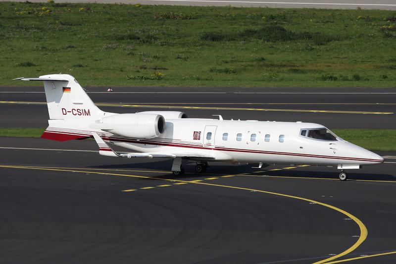 D-CSIM Learjet 60 c/n 60-274 Dussledorf/EDDL/DUS 18-10-15