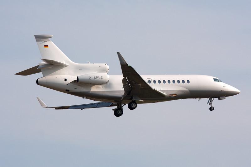 D-APLC Dassault Falcon 7X c/n 77 Frankfurt/EDDF/FRA 02-07-10