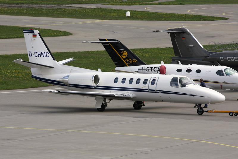 D-CHMC Cessna 550 Citation Bravo c/n 550-0874 Friedrichshafen/EDNY/FDH 20-04-12