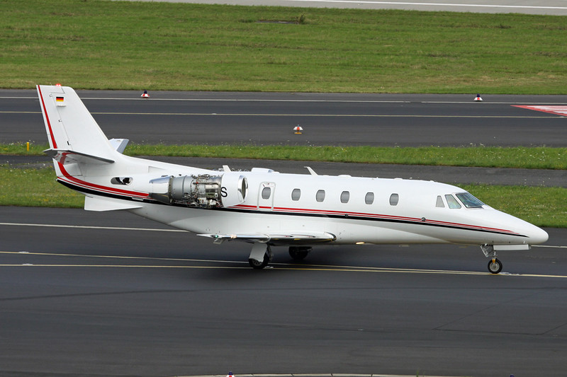 D-CPOS Cessna 560 Citation Excel S+ c/n 560-6109 Dusseldorf/EDDL/DUS 11-07-16