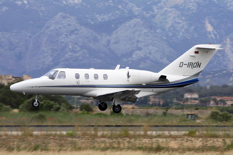 D-IRON Cessna 525 CitationJet c/n 525-0168 Palma/LEPA/PMI 16-06-16
