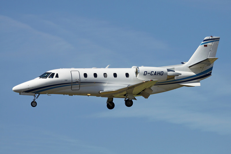 D-CAHO Cessna 560 Citation Excel S+ c/n 560-6165 Paris-Le Bourget/LFPB/LBG 10-07-16