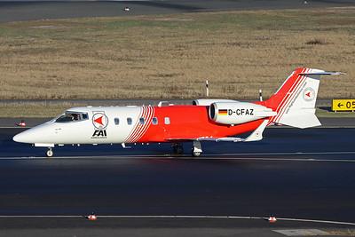 D-CFAZ Learjet 60 c/n 60-030 Dusseldorf/EDDL/DUS 19-01-17