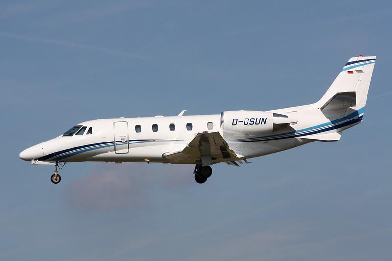 D-CSUN Cessna 560 Citation Excel S+ c/n 560-6102 Paris-Le Bourget/LFPB/LBG 01-10-14
