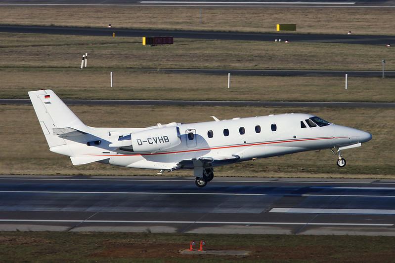 D-CVHB Cessna 560 Citation Excel S+ c/n 560-6168 Dusseldorf/EDDL/DUS 19-01-17