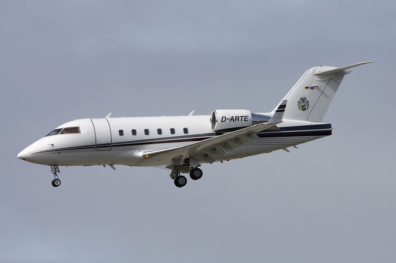 D-ARTE Bombardier 601-3A Challenger c/n 5060 Frankfurt/EDDF/FRA 14-04-13