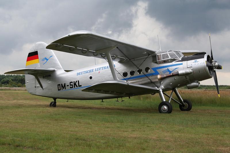D-FONL (DM-SKL) Antonov An-2T c/n 17847302 Leopoldsburg/EBLE 20-07-08