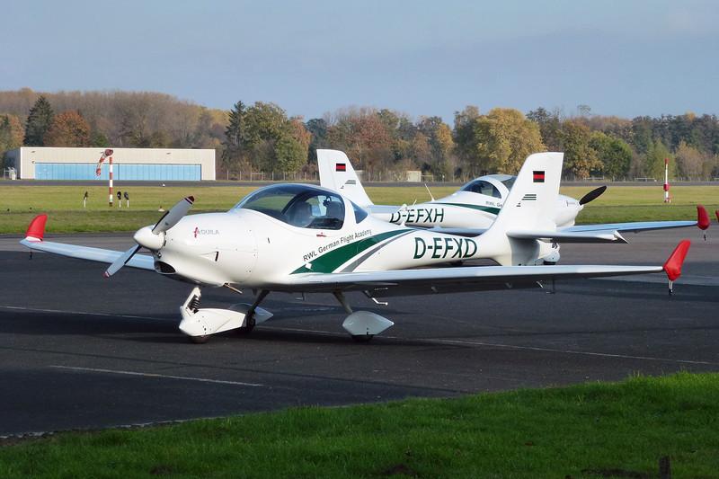 D-EFXD Aquila A.210 c/n 219 Moenchengladbach/EDLN/MGL 30-10-11