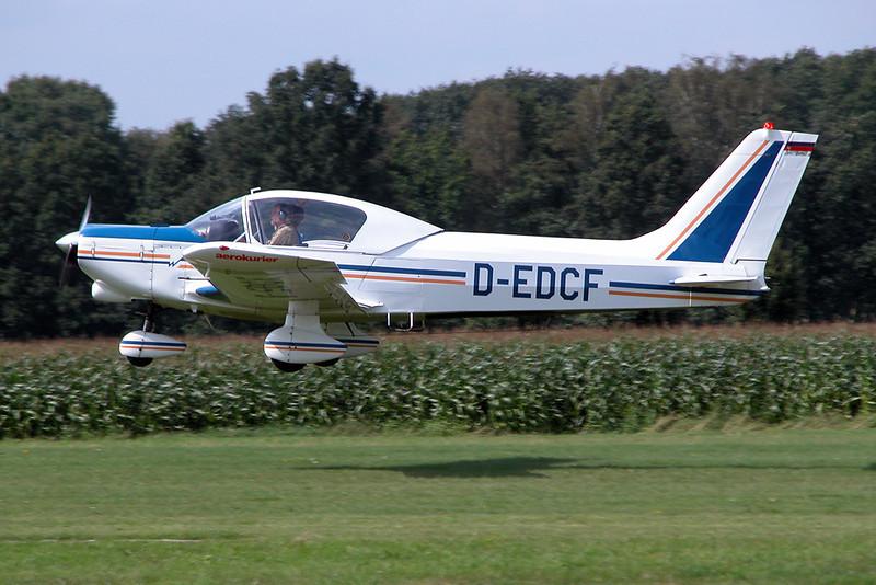 D-EDCF Wassmer WA-41 Super Baladou IV c/n 157 Schaffen-Diest/EBDT 15-08-04