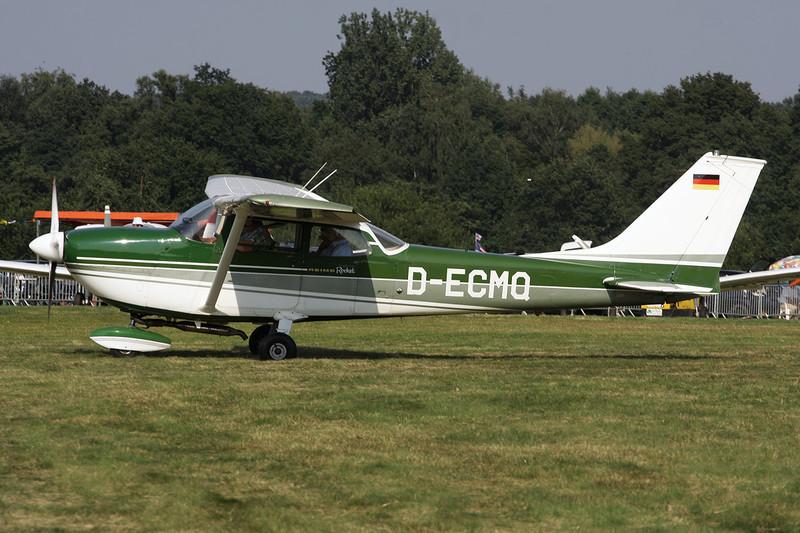 D-ECMQ Reims-Cessna FR.172H Rocket c/n 0232 Schaffen-Diest/EBDT 11-08-12